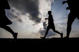 Marine Sailors Run