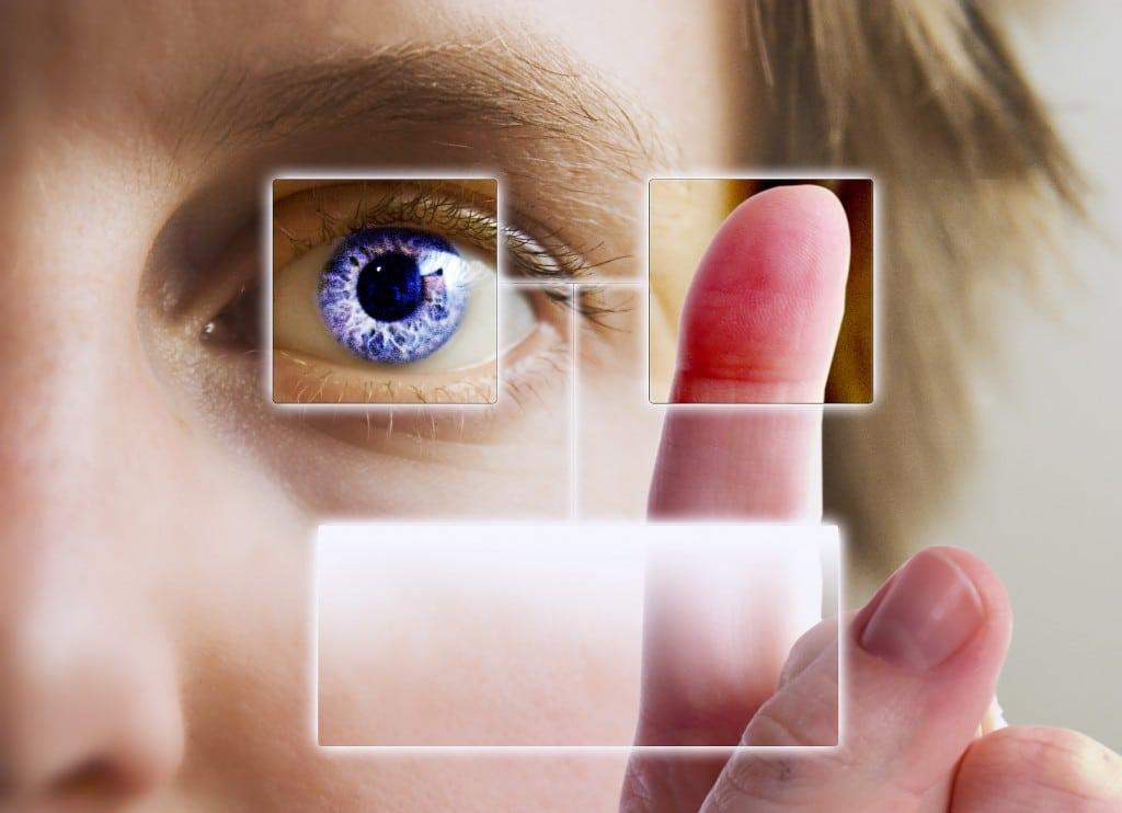 Sports Biometrics - Eye & Finger Scan