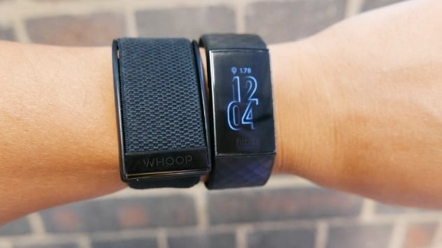 Whoop 3.0 Wearable Device Image