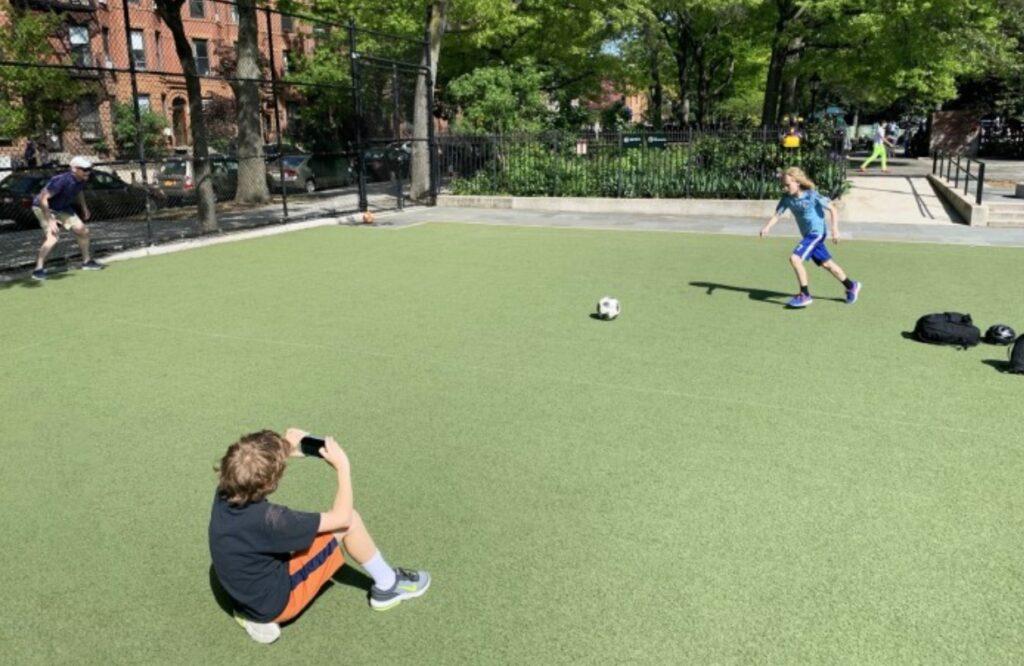 AI Soccer Kick