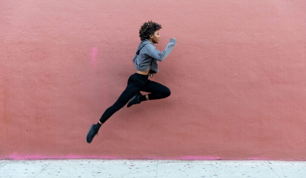 Leaping Runner